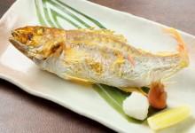 3産直焼魚または煮魚